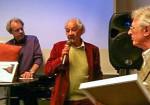 Jan Hansson, Lennart Hellsing och Leif Klitze.